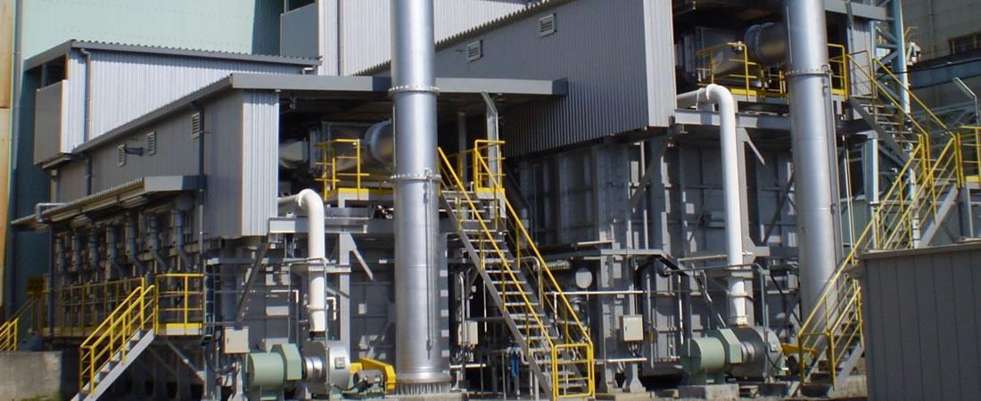 熱処理炉の写真